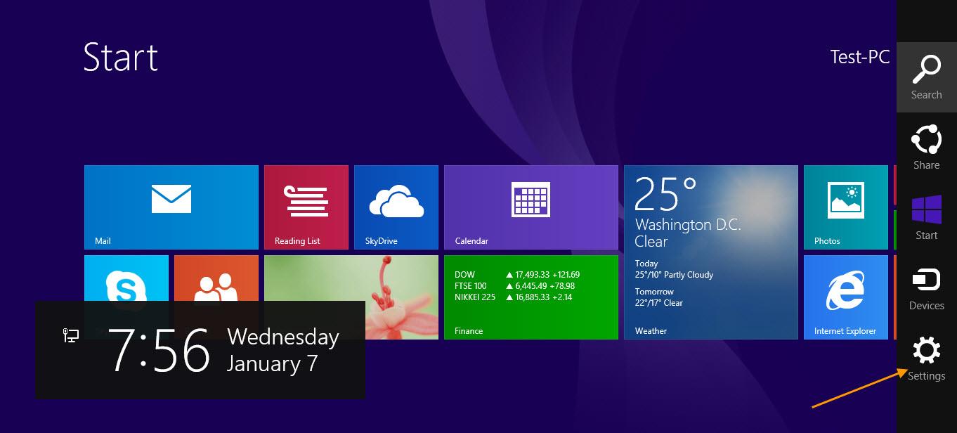 how to fix windows 8 pc settings