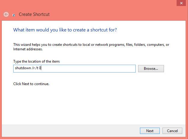 How To Restart Windows 8 - CrocoTIPS